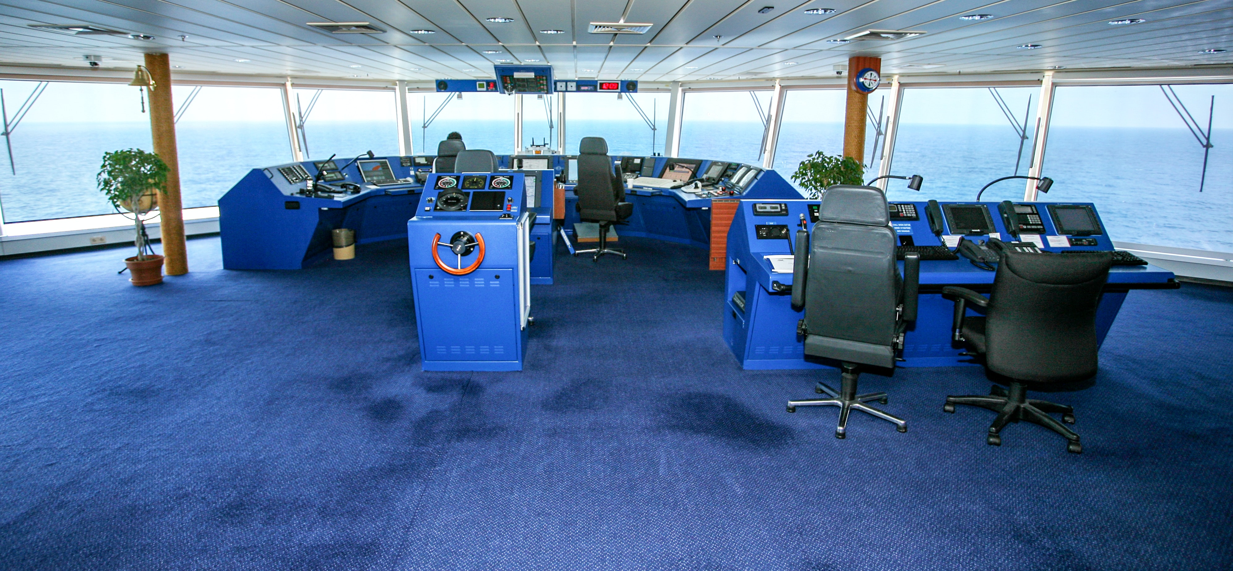 """Any idea why the Command Centre Of A Ship Called """"Bridge""""?"""